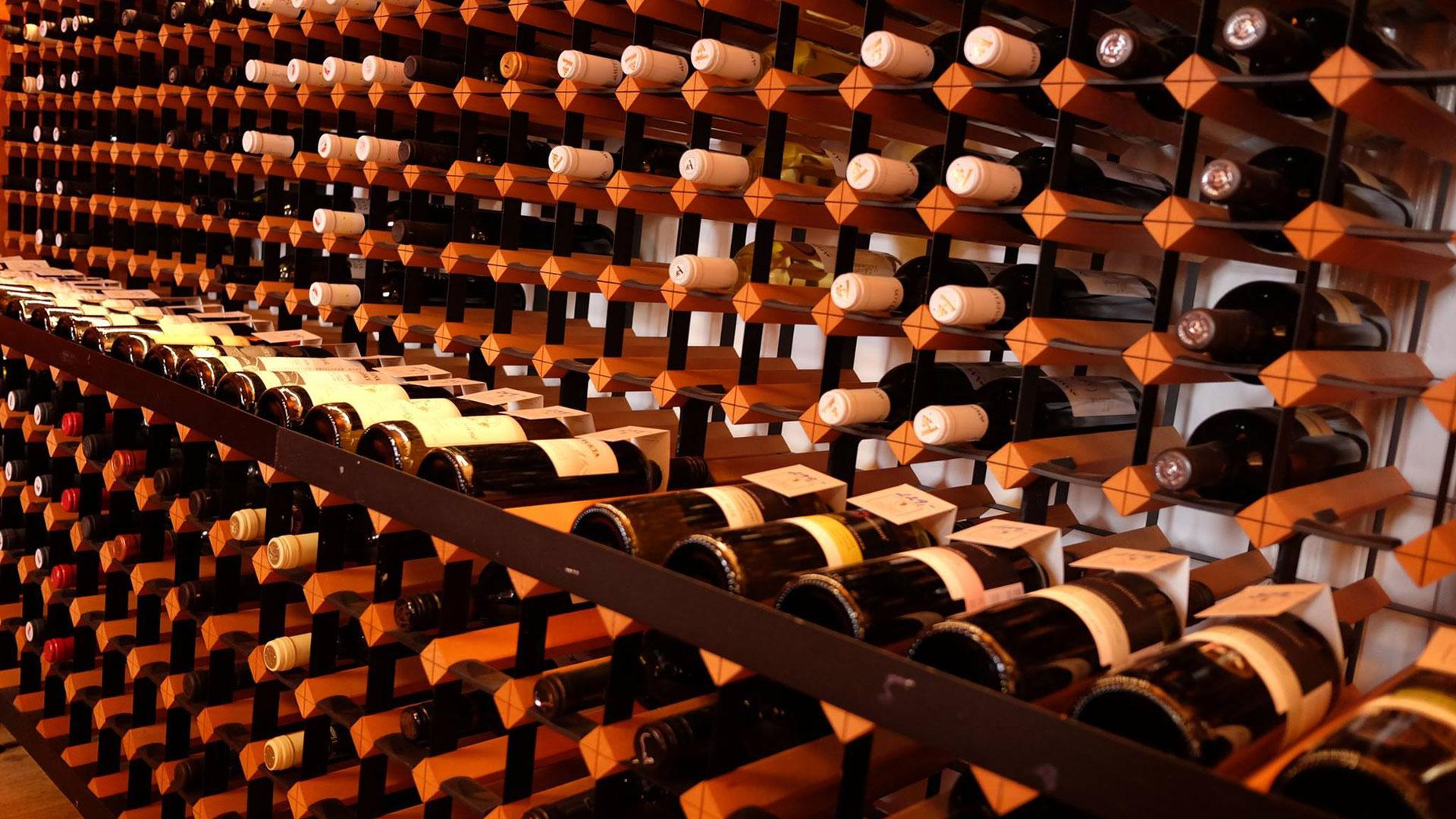 Nabídka lahvových vín